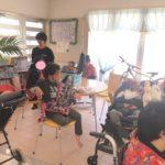 田場自治会で演奏会