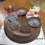 一足早いケーキ♪