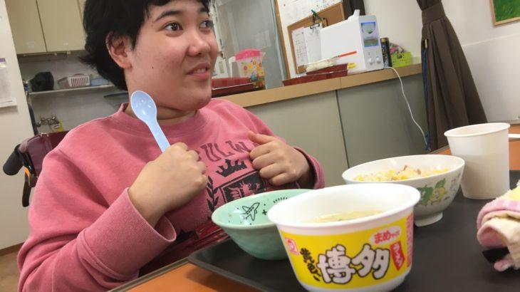 非常食を体験する!!