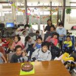 2月生まれの誕生会
